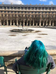 Green hair girl from Moldova in Paris before lockdown Green Hair Girl, Moldova, Girl Hairstyles, Short Hair Styles, Archive, Hair Color, Paris, Travel, Ideas