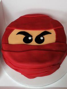 Red ninjago Lego cake