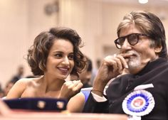 Amitabh and Kangana win 63rd National Film Awards In Delhi