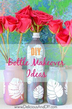 DIY Bottle Makeover