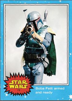 Topps Star Wars Oversized Boba Fett Card (San Diego Comic Con Exclusive 2015).