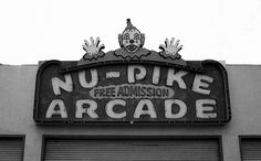 The Pike, Long Beach CA 1970s.  My grandma used to take my cousins and me to play skee ball here.  :)