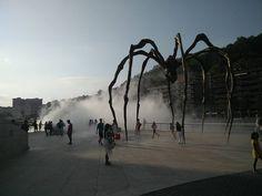 Bilbaossa haluttiin olla omaperäisiä ja käytiin katsomassa Guggenheimia #baskimaa2017