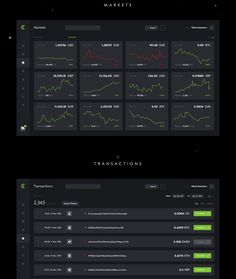 Crypto Wallet | Blockchain Dashboard | Free Download on Behance