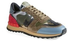 Valentino Camouflage Sneaker (Women) on shopstyle.com