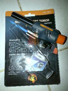 Butane torch adalah alat untuk las ringan seperti service pipa AC, dll.     KETERANGAN HARGA :  1. Starmec bahan kuningan : 100 ribu ribu  2 Korek cunfa : 25 ribu  2. Butane toch 3 api : 25 ribu  3. Torch leher flexible : 70 ribu  4. Seri ws gas hi cook : 90 ribu   Minat hub : 08588 146 2246