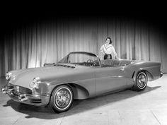 Buick Wildcat III Concept Car 1955.