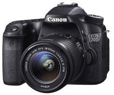 Pour les amateurs de photographie, en mode expert, le reflex #Canon 70D répondra à vos attentes !