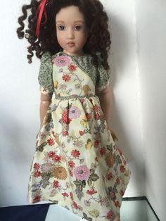 "Helen Kish Chrysalis Doll Clothes 14"" Handmade Dress #Kish #ClothingAccessories"