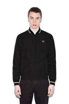 Fred Perry - Reissues Made In England Tennis Bomber Black / Champagne