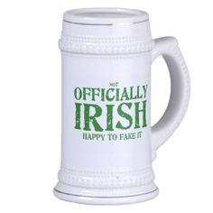(not) Officially Irish Mug