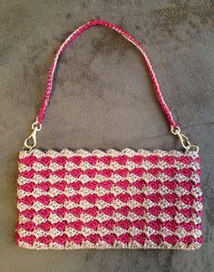 ここちよく暮らす:かぎ針編みで~おでかけバッグ