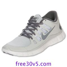 50% Off Nike Frees For Cheap,Nike Free 5.0 Womens Pure Platinum Cool Grey White 580591 001