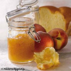 Fruit Preserves, Cantaloupe, Jelly, Yummy Food, Baking, Vegetables, Tableware, Desserts, Chutneys