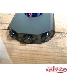 CNC Machined Billet Aluminum Handlebar Mount Switch - BLACK