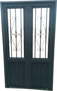 M s de 1000 ideas sobre puertas met licas en pinterest for Puertas metalicas modelos