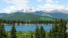 Mount Evans and Echo Lake, Colorado