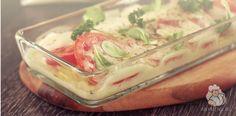 Картофельная запеканка с моцареллой - легкое и вкусное блюдо с любимым всеми итальянцами сыром. Потрясающий вкус, быстрое приготовление!
