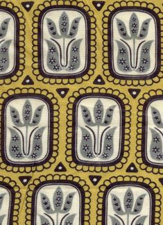 Vintage Finnish Finlayson Fabric designed in 1953.