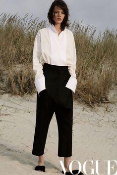 Freja Beha Erichsen for Vogue China, July 2017