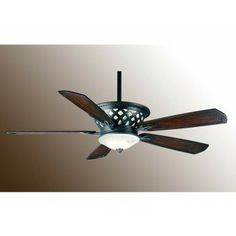 Brushed Nickel Ceiling Fan With Red Accents Accent And Fans
