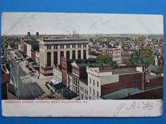 Antique 1906 Hamilton St. Looking West in by GrandmasBequest