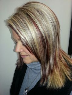 Fall color for women who want to stay blonde in the fall!!