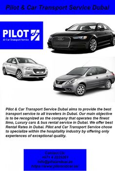 Pilot Car Transport Service Dubai Pilotandcar On Pinterest