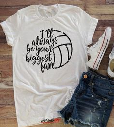 Volleyball Sports Shirt Game Shirt Gift for Mom your biggest fan Volleyball Mom Women's clothing Volleyball shirt Sports Mom Tee Volleyball Mom Shirts, Volleyball Outfits, Volleyball Players, Sports Shirts, Volleyball Party, Volleyball Senior Gifts, Volleyball Decorations, Volleyball Crafts, Basketball Outfits