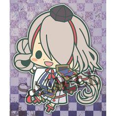 Touken Ranbu Rubber Strap Collection #3 Imanotsurugi Kotobukiya Licensed New