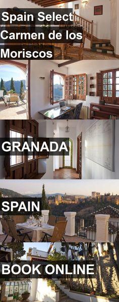 Hotel Spain Select Carmen de los Moriscos in Granada, Spain. For more information, photos, reviews and best prices please follow the link. #Spain #Granada #travel #vacation #hotel