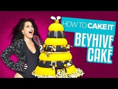 A Beehive Cake for the Beyhive! Delicious cake for Queen B! | Yolanda Gampp | How To Cake It - YouTube