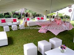 Stretch Tent Couch Umbrella Furniture Hire Furniture Hire
