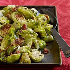 Roasted Brussels Sprouts with Pancetta & Sage Recipe