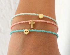 Minuscule Charm Bracelets Bracelets de par lizaslittlethings