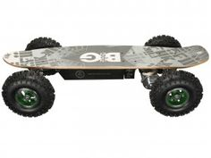 One look at Big Daddy and you know you're gonna tame just about any terrain. Oh yeah, Big Daddy's got the world doing a double take! Gas Powered Skateboard, Electric Skateboard, Optima Car, Cool Tech Gadgets, High Performance Cars, Digital Trends, Big Daddy, Electric Cars, Skateboards