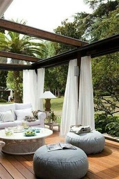 ※ Beautiful Outdoor Family Room