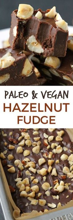 This rich and creamy chocolate hazelnut fudge is full of hazelnut flavor thanks to the addition of hazelnut butter!