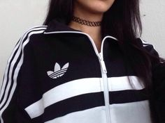 Adidas outfit Tumblr | black and white adidas adidas cyber ghetto tumblr outfit…