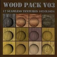 Wood CG Textures Pack V03 @ W3DC