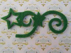 Varie - Applicazioni in Feltro Verdi Set 6 pz. - un prodotto unico di raffasupplies su DaWanda