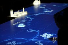 Interactive display at the Museum of London's new galleries | by danielcv