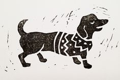 This week I have been cutting some lino prints that I'll make into Christmas cards, coming very soon... Linocut is one of my fa...