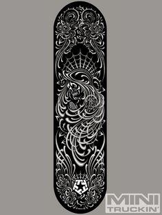 pinstriping - Google Search Leather Jewelry, Leather Craft, Pinstripe Art, Custom Decks, Black Tiles, Sports Graphics, Airbrush Art, Pinstriping, Creative Illustration