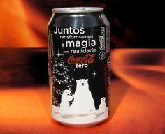 2011 Coca-Cola Zero Polar Bears Christmas Natal Brazil by roitberg Coca Cola Zero, Coca Cola Can, Pepsi Cola, Cool Packaging, Packaging Design, American Drinks, Coca Cola Christmas, Coca Cola Polar Bear, Polar Bear Christmas