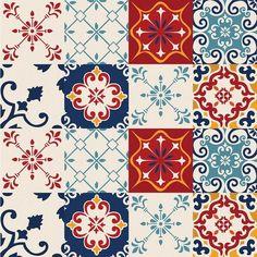 Adesivo de azulejo ruby - Juggle Tutorial and Ideas Tile Patterns, Print Patterns, Decoupage, Paisley Art, Textile Pattern Design, Pattern And Decoration, Textured Wallpaper, Dot Painting, Tile Art