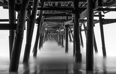 Beneath The Pier - Open Edition - Taken under the San Clemente Pier
