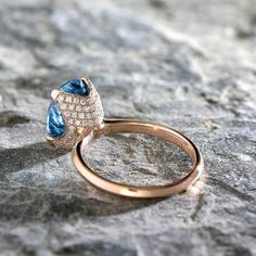 20 Wedding Weekly Trends - Editor's Choice Jewelry Rings, Silver Jewelry, Fine Jewelry, Women Jewelry, Jewelry Making, Jewellery, Rings For Her, Blue Zircon, Engagement Jewelry