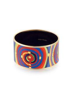 Bracelet Diva Spirale de la Vie - Collection Hommage à Hundertwasser - FREYWILLE http://fr.frey-wille.com/#Jewellery/Hundertwasser/SpiralOfLife/DivaBangle