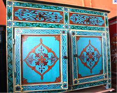Moroccan paint effect